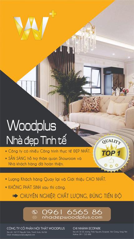 Giới thiệu WoodPlus - Nhà Đẹp Tinh Tế
