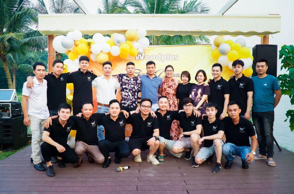 Đội ngũ nhân sự trẻ trung của WoodPlus