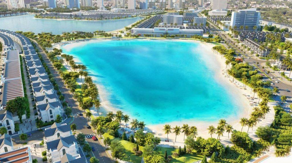 Biển Hồ Nước Mặt - điểm nhấn đặc biệt trong đại đô thị Vinhome Ocean Park