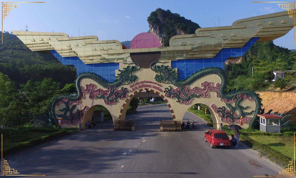 Công viên Nghĩa Trang Lạc Hồng Viên tọa lạc tại Hào Bình với chủ đầu tư là công ty Toàn Cầu