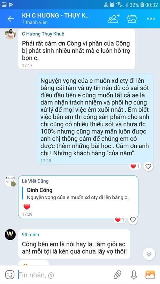 Danh gia chat luong sau khi thi cong gia dinh anh chi Tuong Huong 1