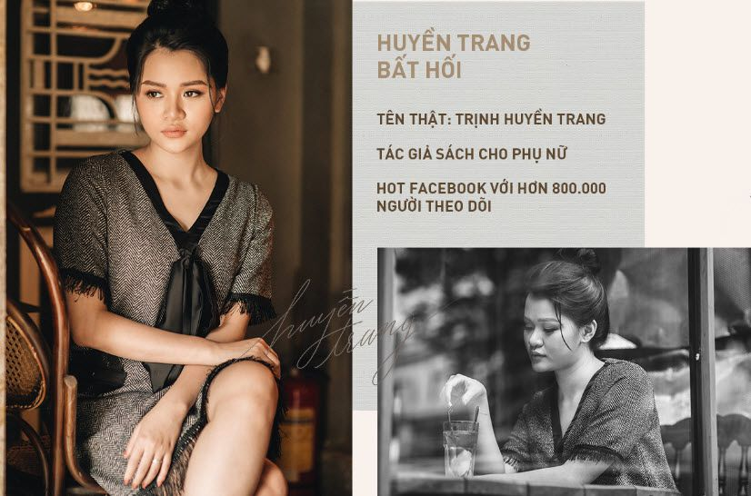 Nữ nhà văn Huyền Trang Bất Hối phụ nữ vạn người mê