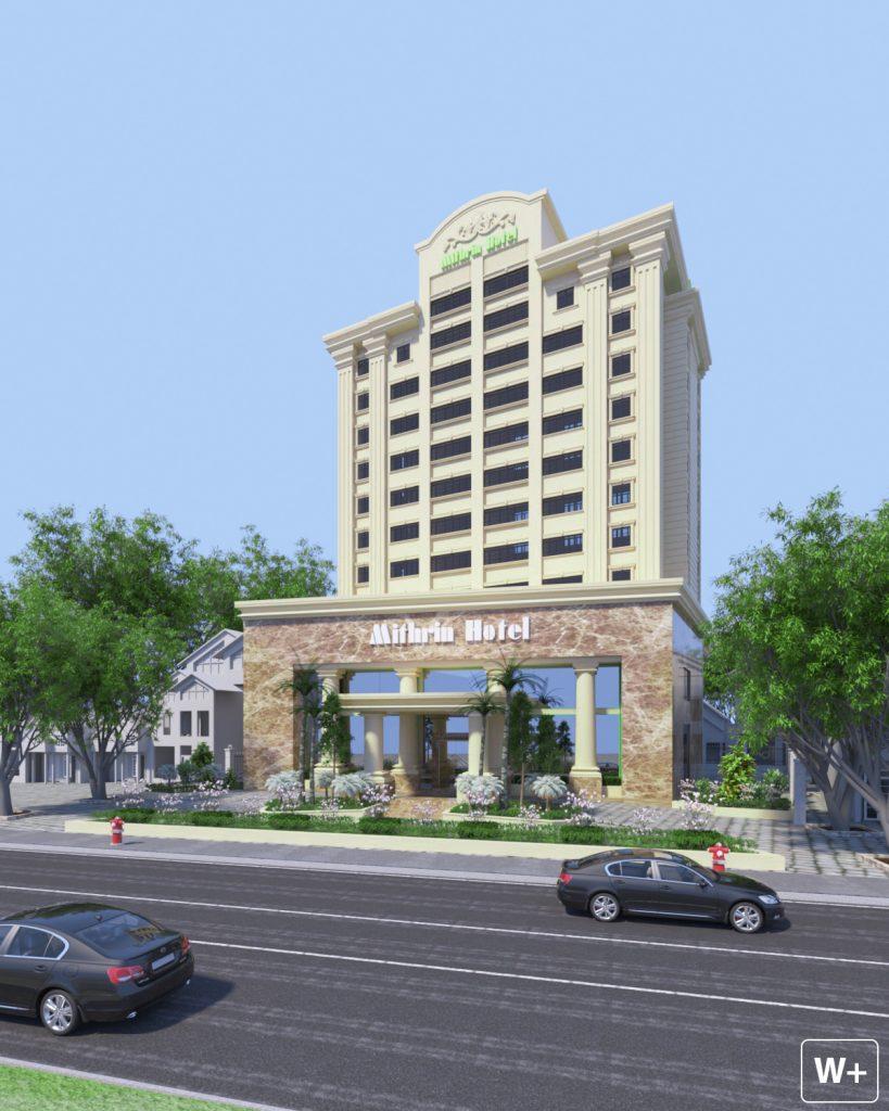 Khách sạn Mithrin Hạ Long được tân trang với diện mạo mới, sang trọng và đẳng cấp