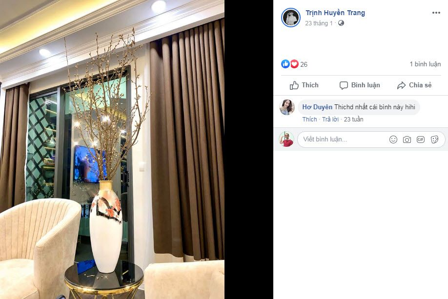 Lo hoa dac biet don chao nam moi nha van Huyen Trang Bat Hoi