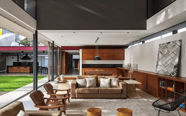 Mẫu nội thất phòng khách hiện đại