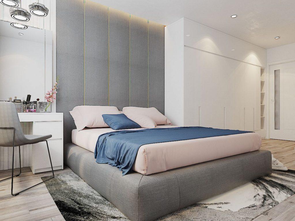 Phòng ngủ master gia đình anh Tường Hương