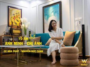 Thiết kế thi công căn hộ anh Minh chị Ánh chung cư Hòa Phát 70 Nguyễn Đức Cảnh
