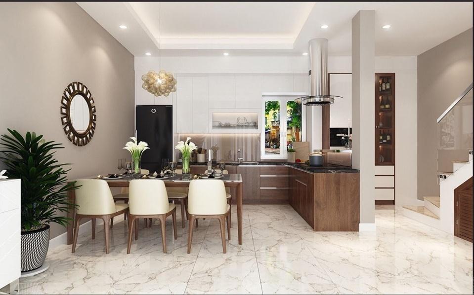 Thiết kế nhà bếp và phòng ăn