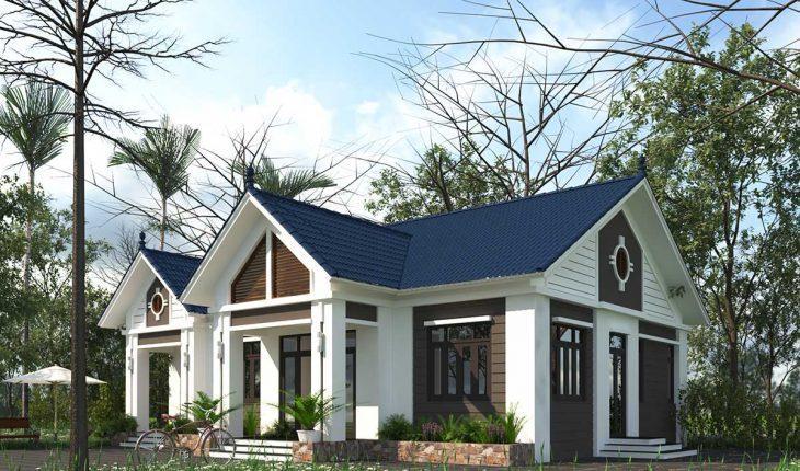 Thiết kế nhà cấp 4 nông thôn đẹp