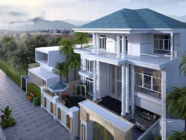 Thiết kế nhà vuông 10x10 3 tầng đủ không gian sinh hoạt cho mọi thành viên