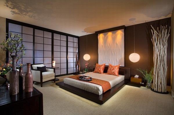 Mẫu thiết kế cho các phòng ngủ mater
