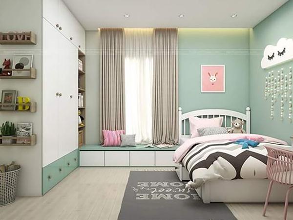 Thiết kế nội thất phòng ngủ cho trẻ em