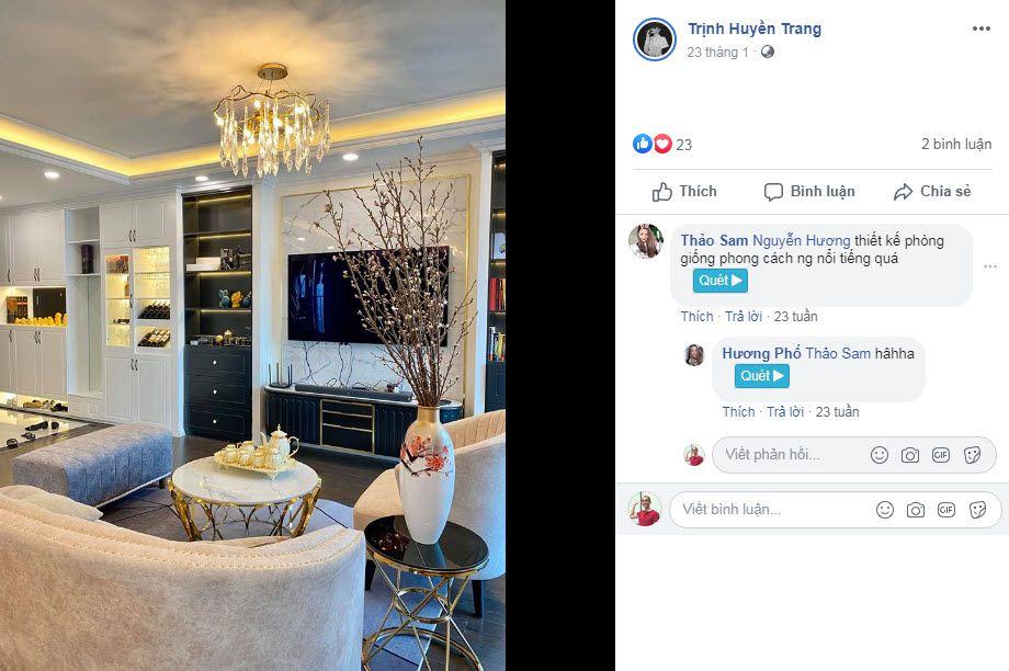 Thiet ke phong voi phong cach nguoi noi tieng nha van Huyen Trang Bat Hoi