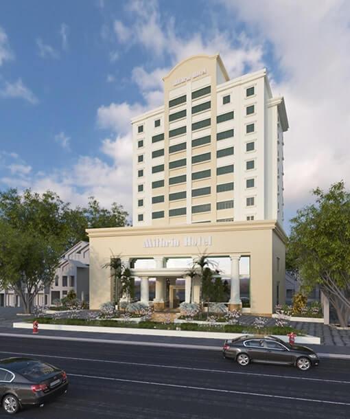 Thiết kế thi công khách sạn Mithrin Hạ Long 4 sao