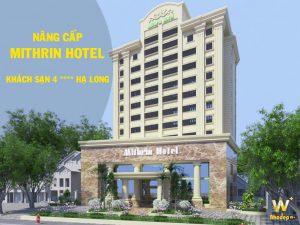 WoodPlus thiết kế thi công khách sạn Mithrin Hạn Long tiêu chuẩn 4 sao