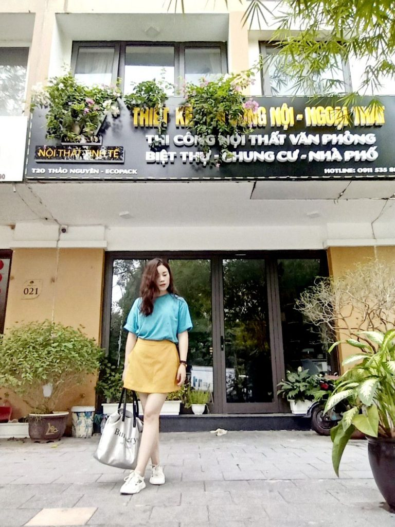 Chị Huyền chủ nhân shop house tại KĐT Thảo Nguyên - EcoPark Hưng Yên