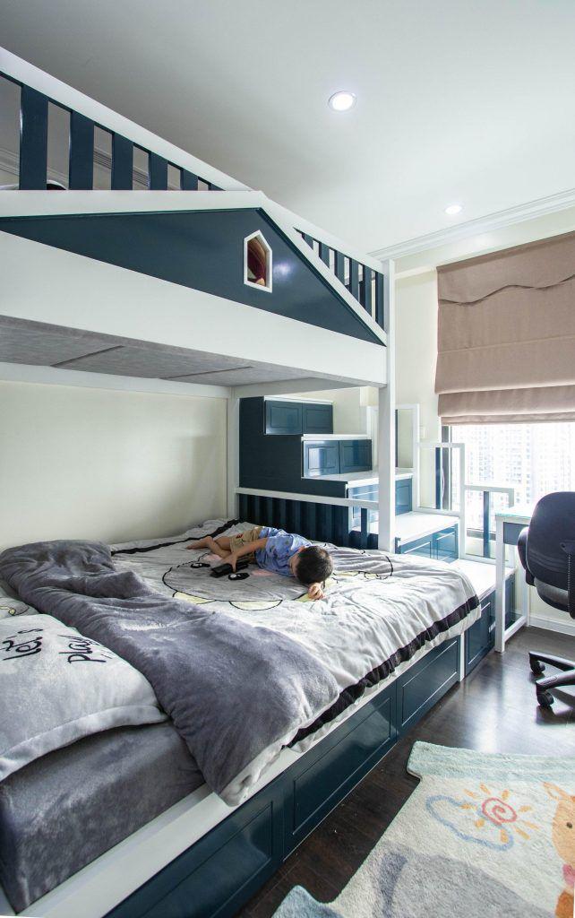 Giường 2 tầng phòng ngủ trẻ tại nhà CEO Trần Thu Thủy