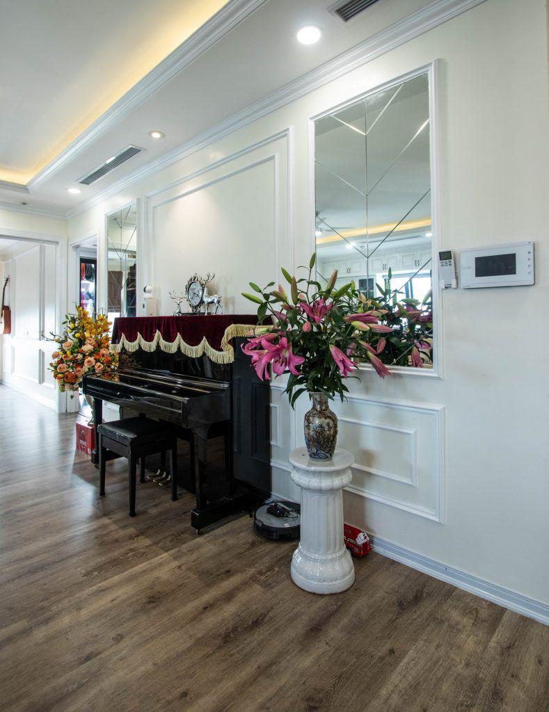 Goc dan piano phong khach can ho chung cu Imperia Minh Khai Ceo Tran Thu Thuy