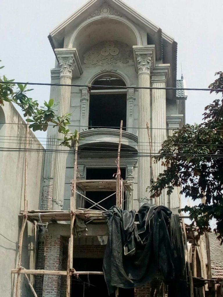 Mặt tiền công trình thực tế anh Vịnh Phú Thọ