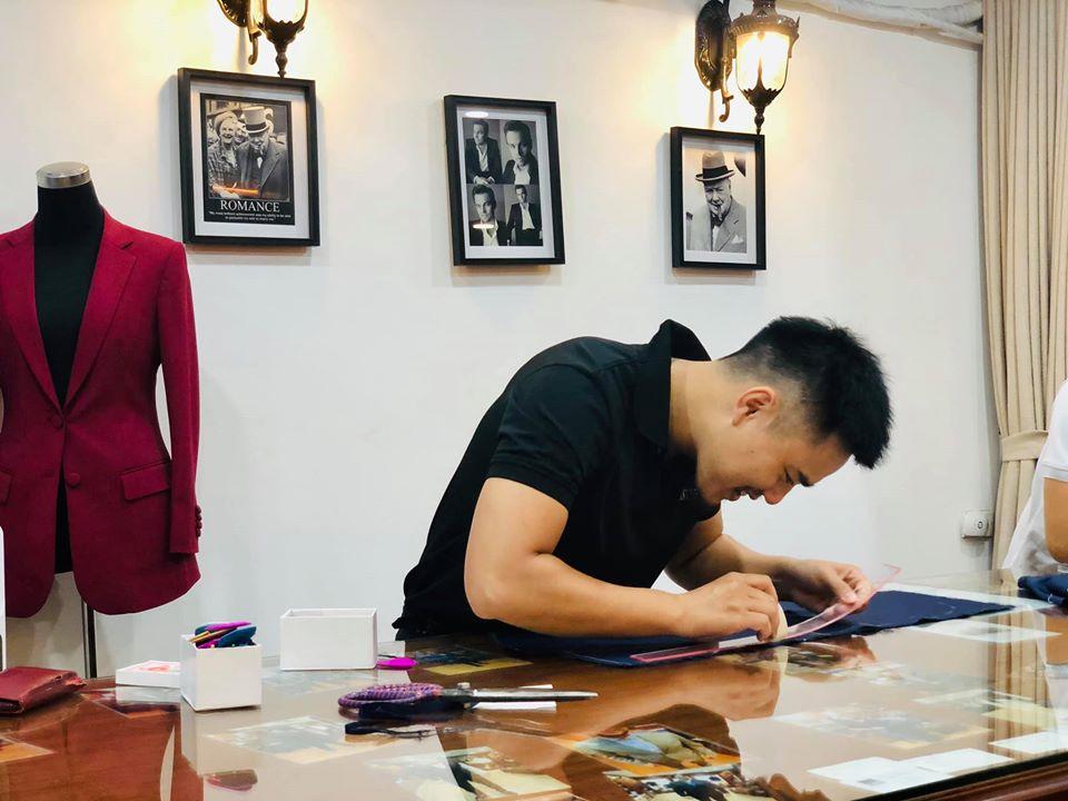 Ngo Phuong em trai Tailor Kien ong chu chuoi nha may Ngo Minh
