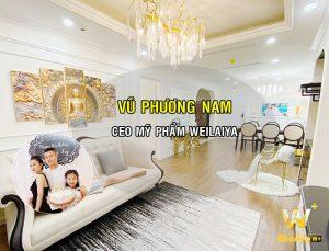 WoodPlus thiết kế nội thất chung cư tinh tế CEO Weilaiya Vũ Phương Nam
