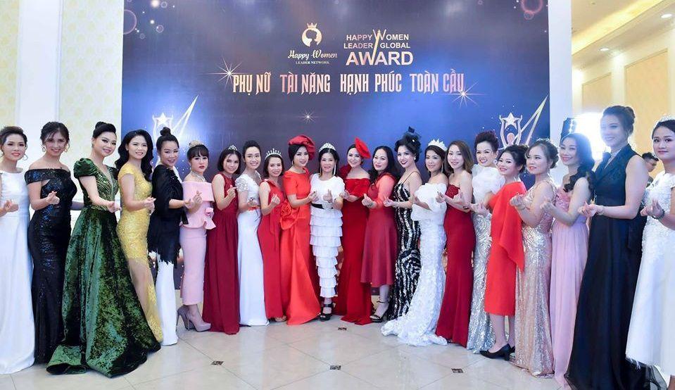 Hội chị em Phụ nữ doanh nhân thành đạt tại Happy Women Success