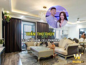 Thiết kế nội thất căn hộ chung cư CEO mỹ phẩm Trần Thu Thủy