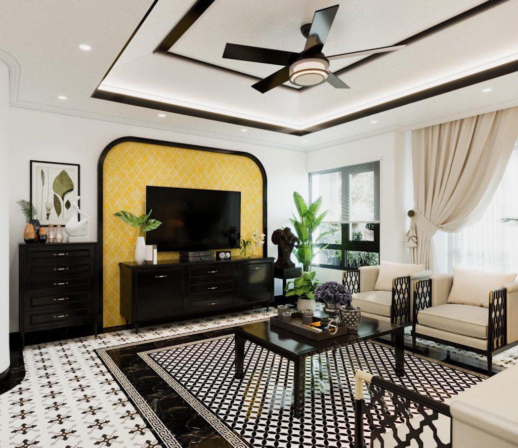 Thiết kế phong cách nội thất Đông Dương Nhà Đẹp WoodPlus