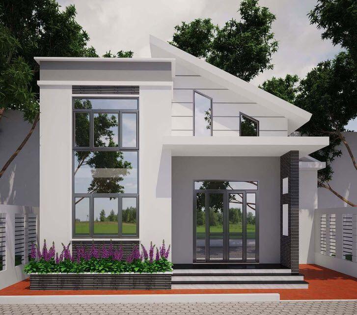 Thiết kế nhà rẻ đẹp 1 tầng