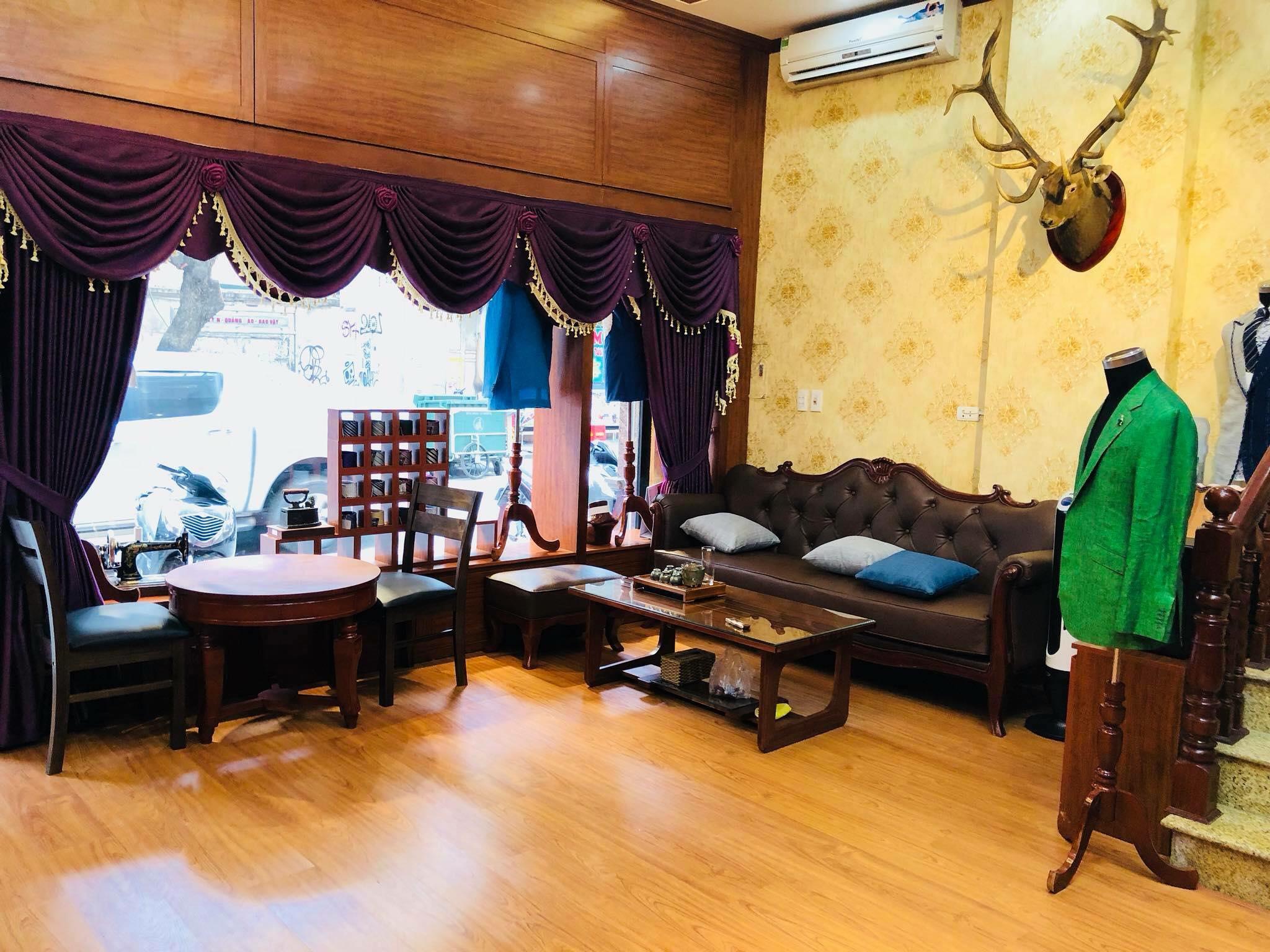 Thiet ke thi cong noi that chuoi nha may Ngo Minh Tailor 143 Hang Bong 5