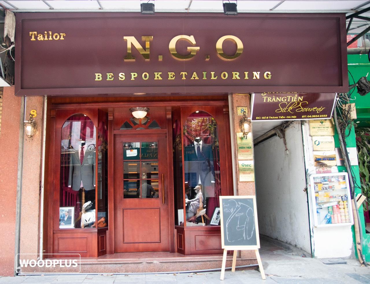 Thiet ke thi cong noi that chuoi nha may Ngo Minh Tailor 8 Trang Tien 8