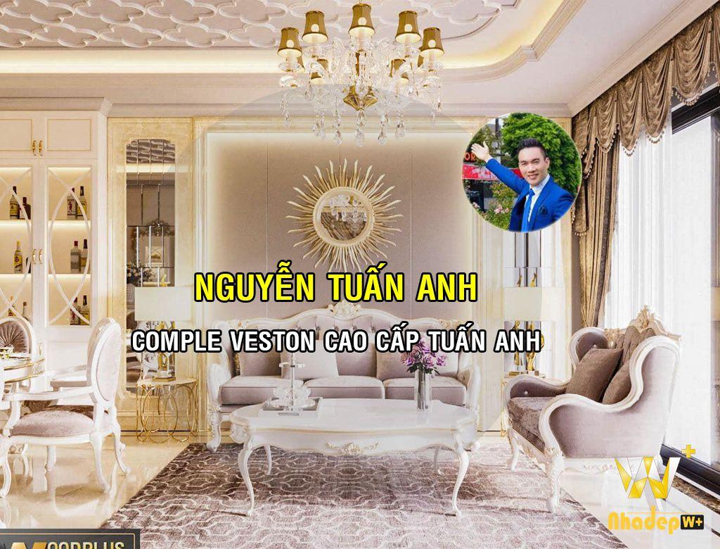 WoodPlus thiết kế thi công nội thất nhà lô Nguyễn Tuấn Anh chủ nhà may Comple Veston cao cấp Tuấn Anh Hòa Bình