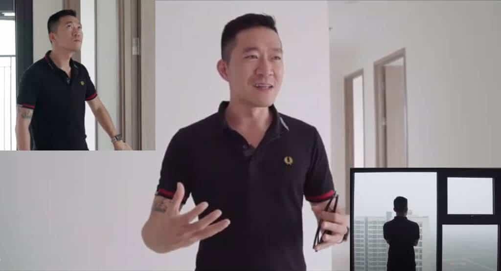 Bàn giao nội thất chung cư Vinhomes Ocean Park căn hộ youtuber Hoàng Nam