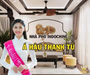 Phong cách nội thất Indochine nhà phố Á hậu Ngô Thanh Thanh Tú