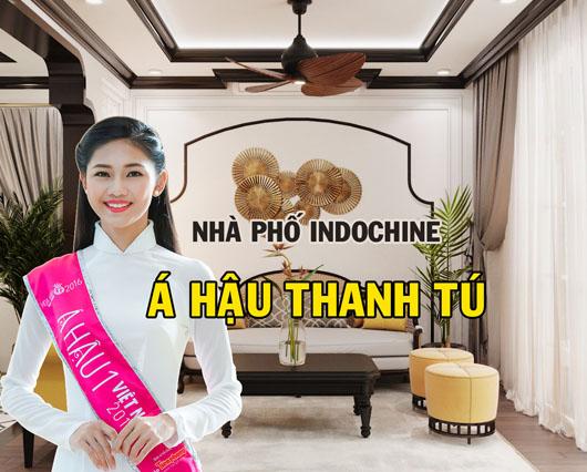 Thiết kế nội thất phong cách nội thất Indochine (Đông Dương) nhà phố Á hậu Thanh Tú