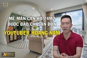 Thiết kế nội thất chung cư Vinhomes Ocean Park Hoàng Nam youtuber Challenge Me phong cách Indochine tinh tế