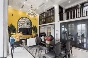 Thiết kế và thi công nội thất Duplex Royal City gia đình chị Yến